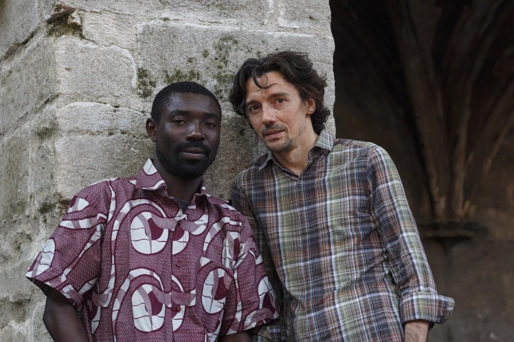 Artistes associés 2013 - Dieudonné Niangouna et Stanislas Nordey - © Christophe Raynaud de Lage / Festival d'Avignon